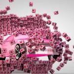 Carcrashed Logocubes Animation