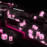 Lighted Logocubes Animation