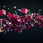 Soundeffected Logocubes Animation