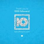 BLOG: 1000 Follower bei vimeo