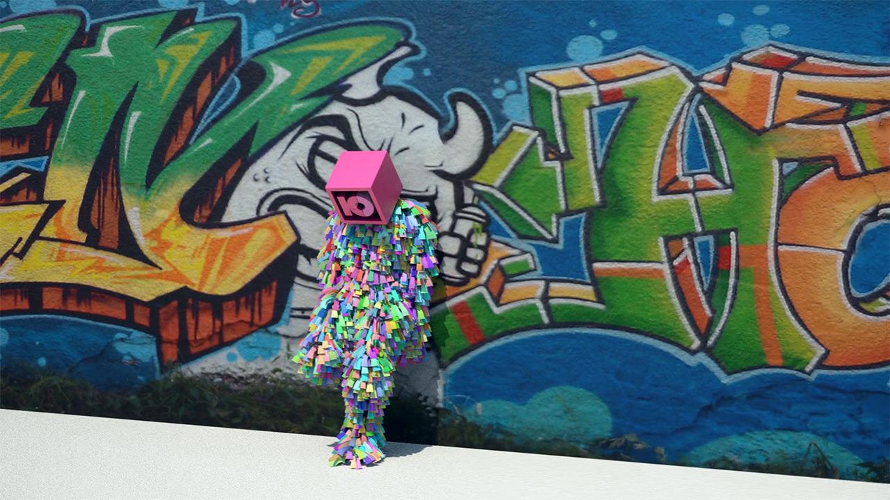 Graffiti Animation Ken Ottmann Kommunikationsdesign Medienproduktion